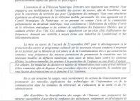 d'albis commission fillon copie privée critique
