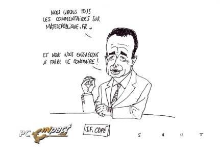 Carrefour Copé dessin télé VoD