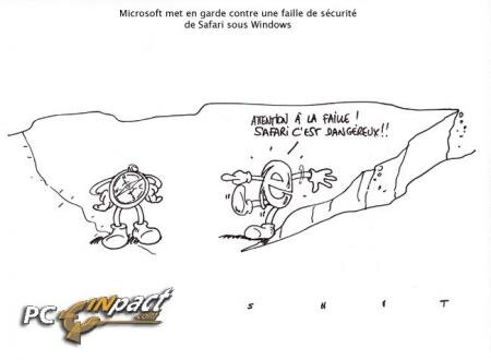 Faille Safari Apple Windows Microsoft