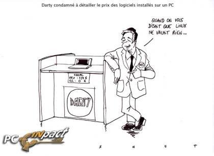 darty microsoft linux information prix vente liée