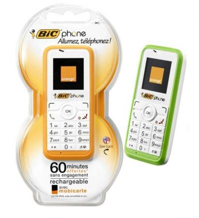 bicphone orange bic