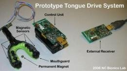 tongue drive system langue interface bouche