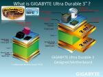 Gigabyte Ultra Durable 3 Quick Boost