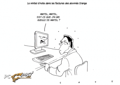 minitel orange