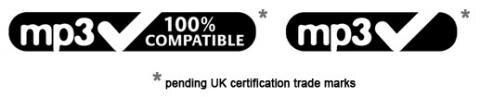 MP3 compatible logo