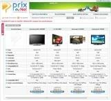 comparaison GPS tableau LCD TV photo numérique