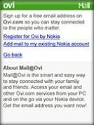 Mail on Ovi