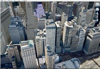google earth paris new york 3D réaliste