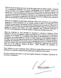 mission piratage prévention préventif albanel CSPL
