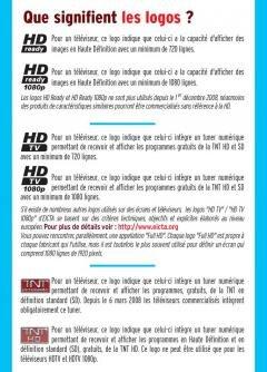 logo HD télévision haute définition 1080p TNT