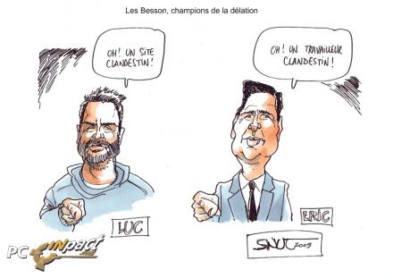 Luc Eric Besson delation