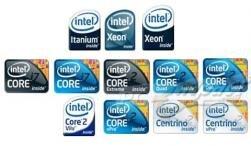 Intel logos