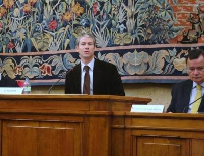 Franck Riester rapporteur loi Création et Internet