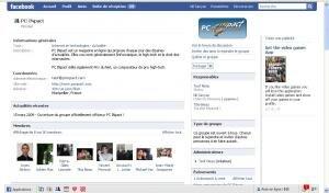 Facebook PC INpact