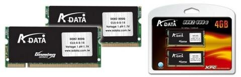 A-DATA DDR2-800G XPG