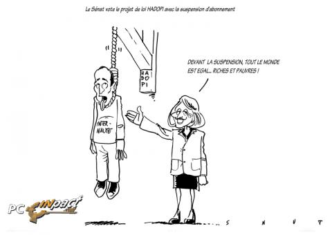 égalité suspension abonnement amende