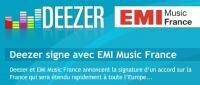 Deezer EMI Music France