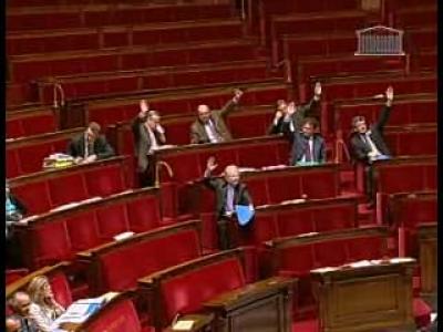 vote majoritée absolue députés HADOPI