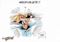 projet hadopi vote rejeté assemblée nationale