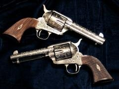 Pistolets armes flingues