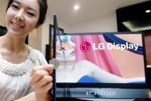 LG écran LCD fin monde