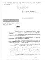 sylvia pinel députée tarn et garonne lettre menace