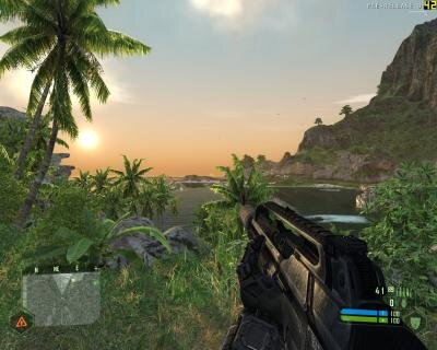 Commodore Gaming test Crysis