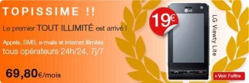 Coriolis Telecom forfait tout illimite Topissime