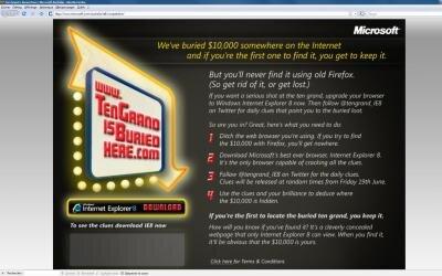 firefox internet explorer microsoft concours 10000