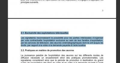 FTT fédération française des télécoms CNC