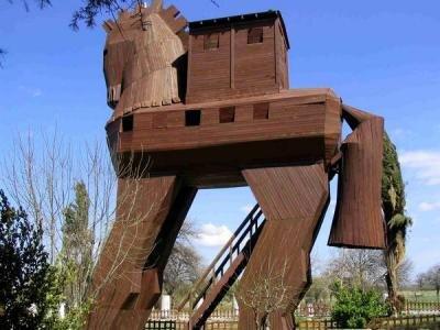 cheval troie troyen trojan