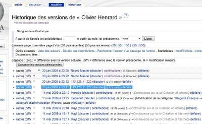 olivier henrard hadopi wikipedia