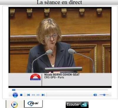 motion Nicole Borvo Cohen Seat