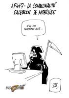 Facebook Soutien AF447 dessin