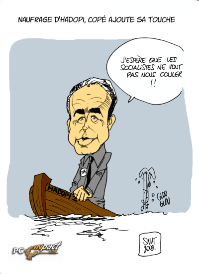 jean-françois copé HADOPI UMP débat