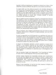 SACD pascal rogard riposte graduée CNC critiques