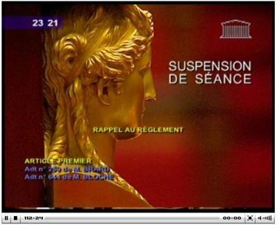 suspension séance