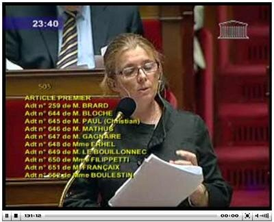 députée