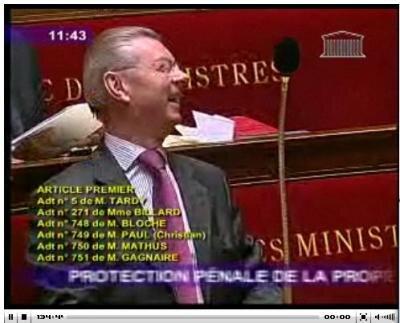 rire ministre