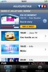 iphone tf1 player application iPhone iPod