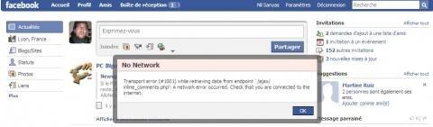 Facebook plantage ajax