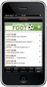 Orange foot Ligue 1 iPhone 3G