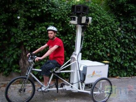 google street view vélo tricycle atout france