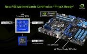 NVIDIA P55 PhysX SLi