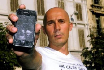 iPhone transformé en iCraquelé