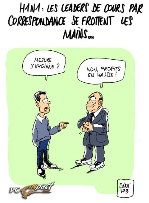 Cours Correspondance h1n1 dessin