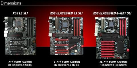 x58 sli classified evga