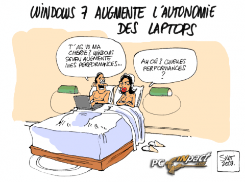 Windows 7 performances portables dessin