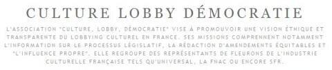 Culture Lobby Démocratie