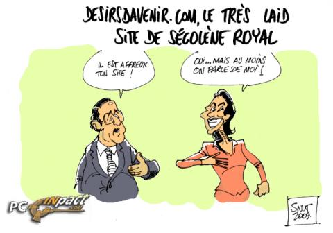 Desirsdavenir segolene royal dessin